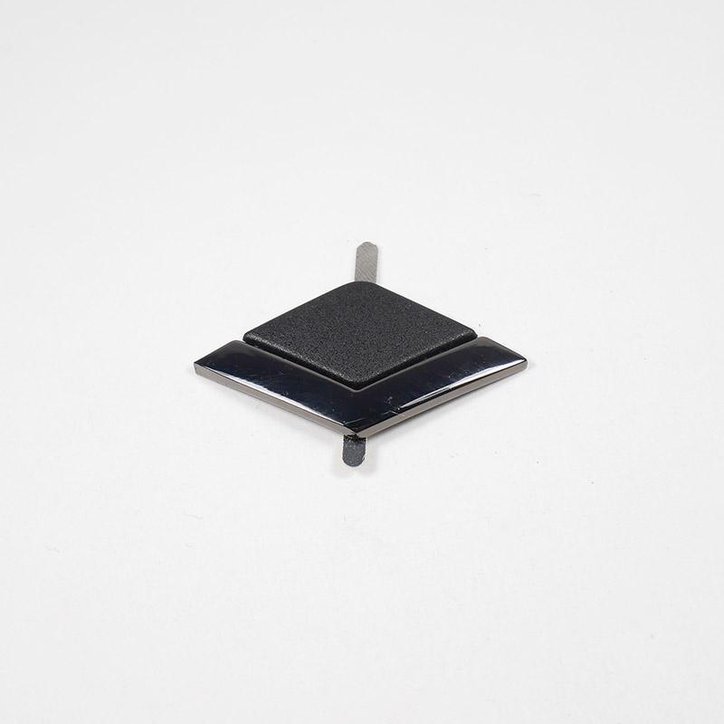 Краб металлический Ромб в галке 40х20мм 30125