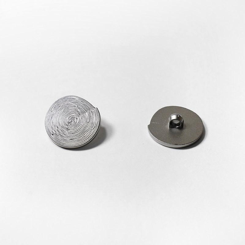 Пуговицы пальто-костюм на ножке 516/40 25мм т.серебро