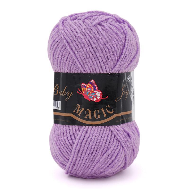 Пряжа Baby Joy 5714 - светло-сиреневый
