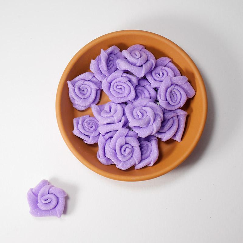 Бутончик цветов 1,5см SF-033 фиолетовый 15-461