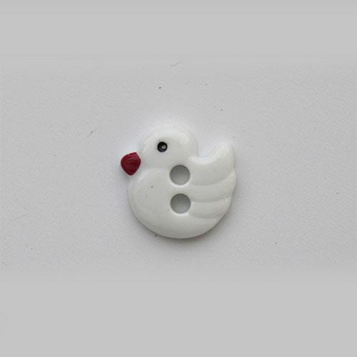 Пуговицы Утенок QN257-W2 20L белый 7717690-093