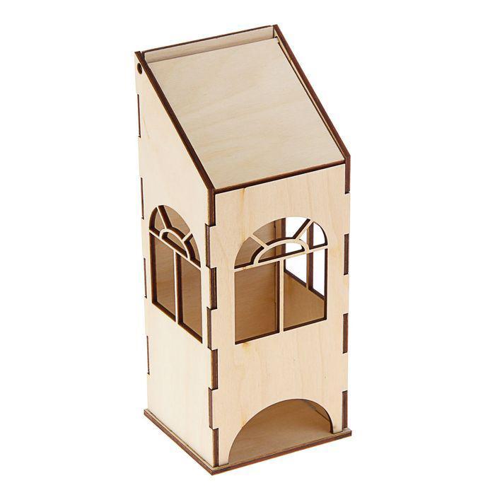 Чайный домик с пологой крышей 9х8х23см 1399573