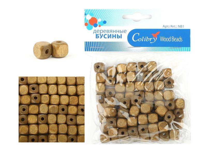 Деревянные бусины для рукоделия купить