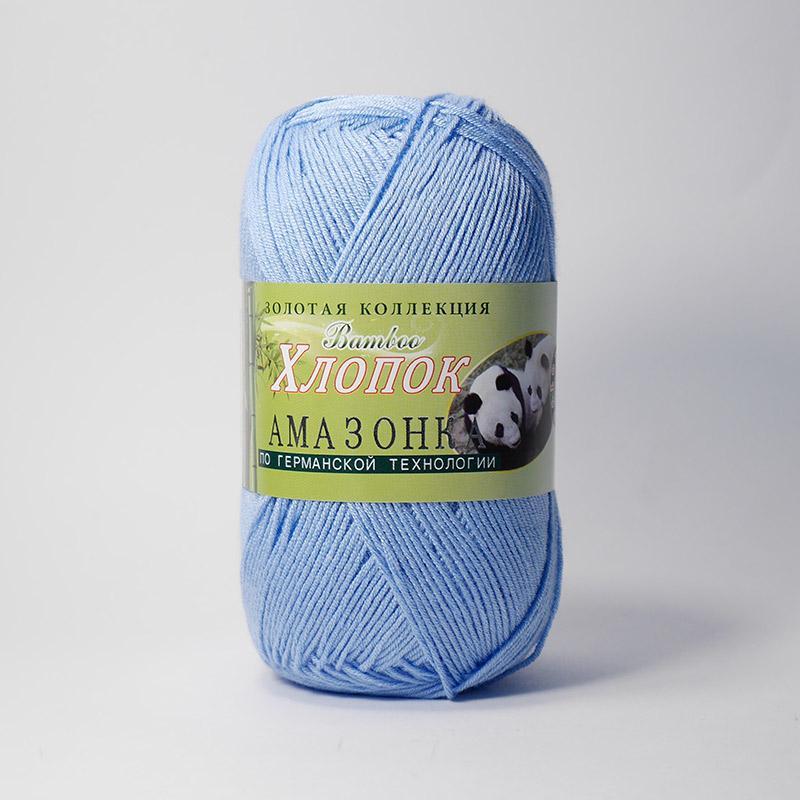 Пряжа Амазонка 108 - голубой