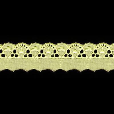 Шитье цветное 101 25мм 8,8м желтый