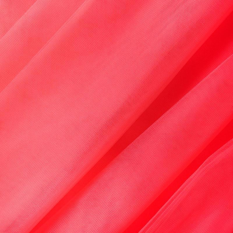 Еврофатин мягкий матовый HT.S 100%полиэстер 3х5м 57 неон розовый