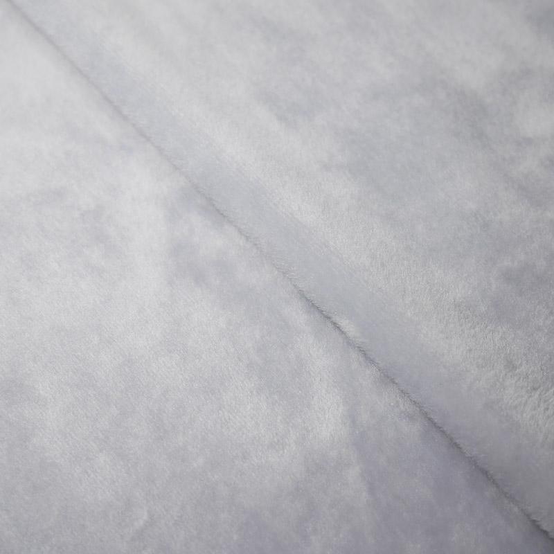 Мех М-1450 коротковорсовый 1,5мм 50х50см св.серый 24895