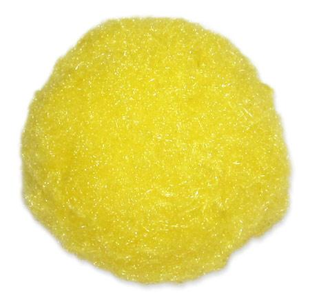 Помпоны 50мм желтый