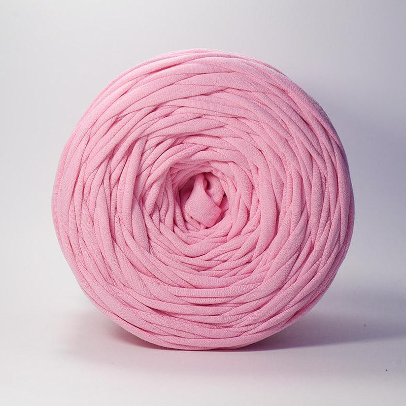Пряжа Лента - розовый