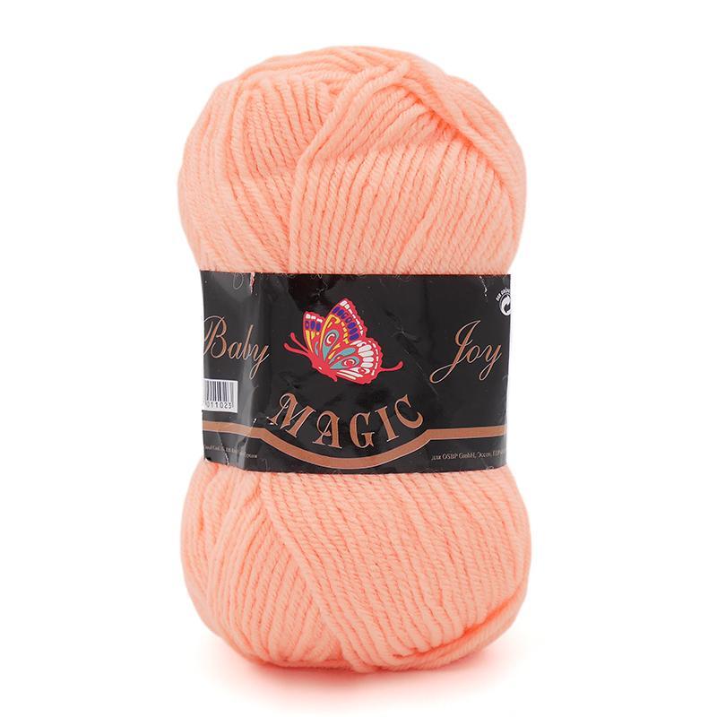 Пряжа Baby Joy 5719 - оранжевый коралл
