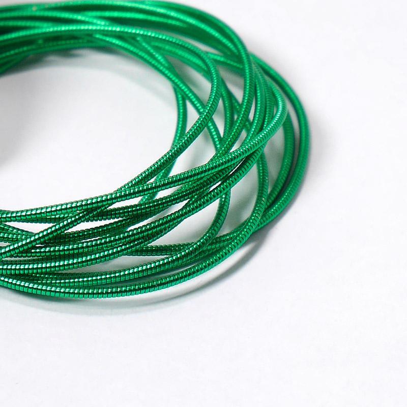 Канитель 1мм 7709-EMBGW зеленый 5гр