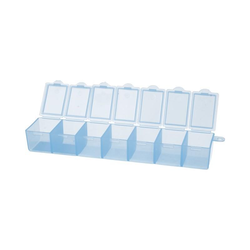 Контейнер пластик Т-35 Гамма голубой/прозрачный
