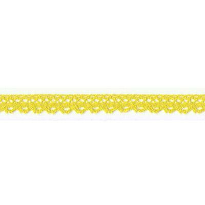 Тесьма декоративная HVK-01-020 12мм 23м, желтый СК
