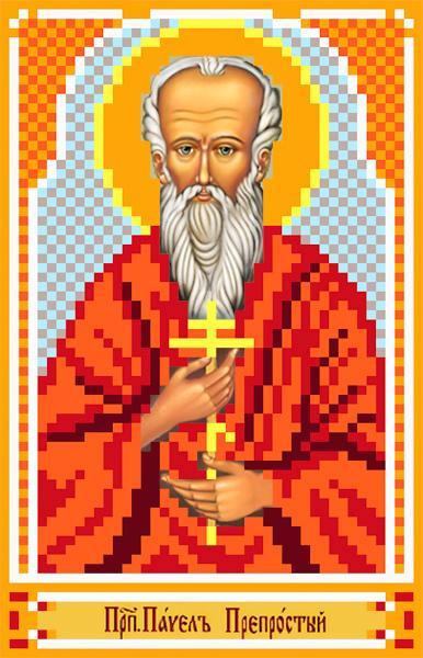 "Шелк с рисунком ""Св.Павел"""