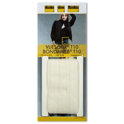 Паутинка Vliesofix клеевая на бумаге Т10 10мм 5м прозрачный