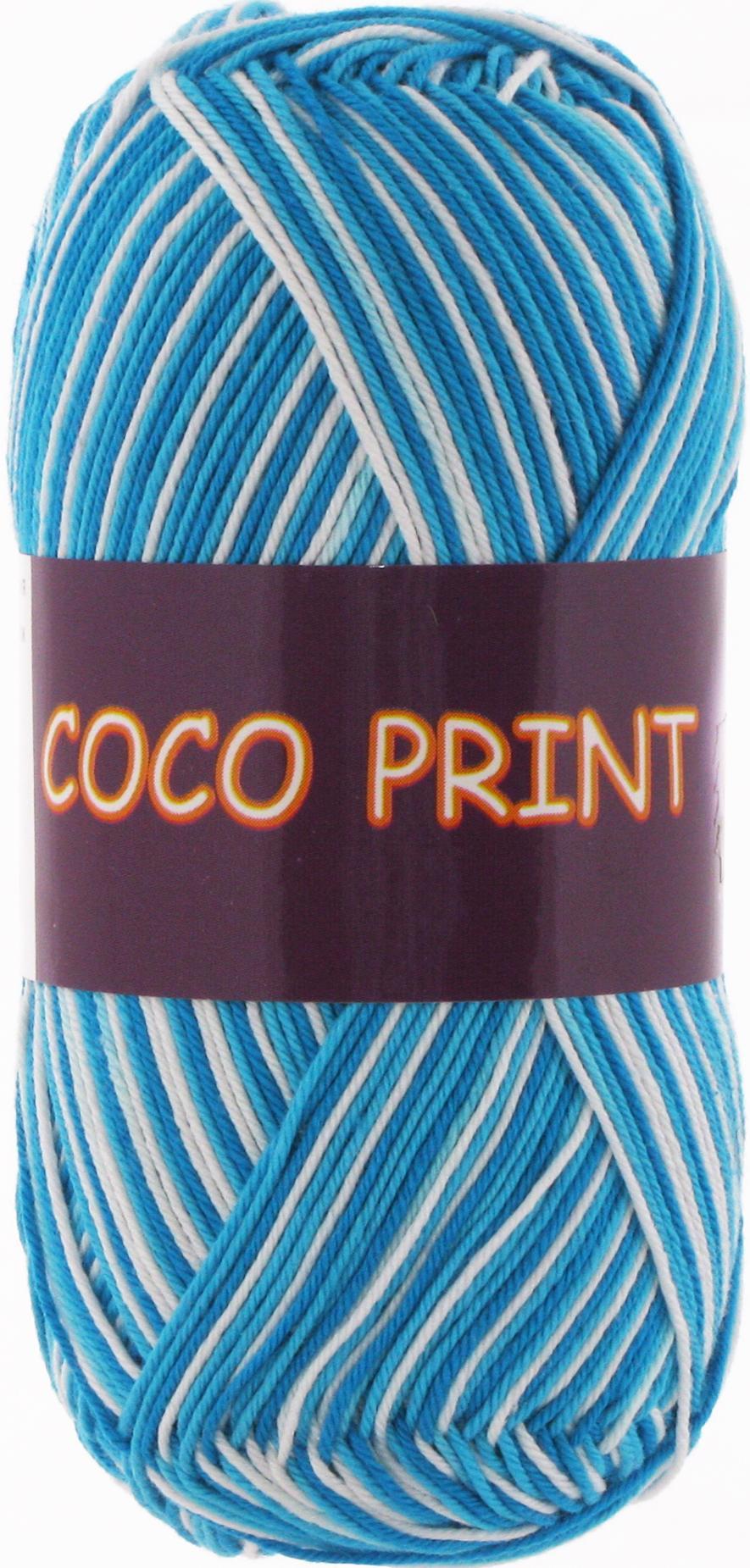 Vita cotton Coco print 4668