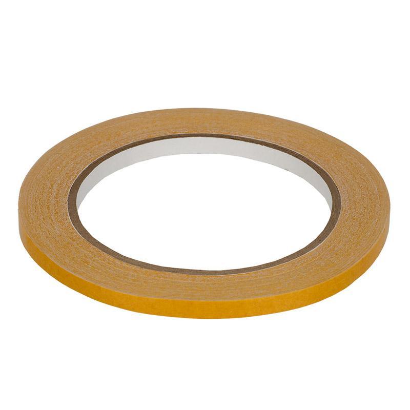 Клейкая лента двухсторонняя для кожи трансфер TDK-06 6мм 25м белый