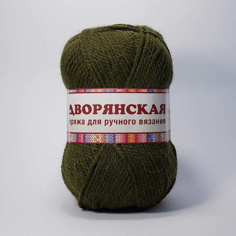 Пряжа Дворянская 086 - болотный