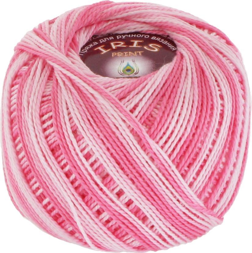Iris print 2205 - светло-розовый меланж