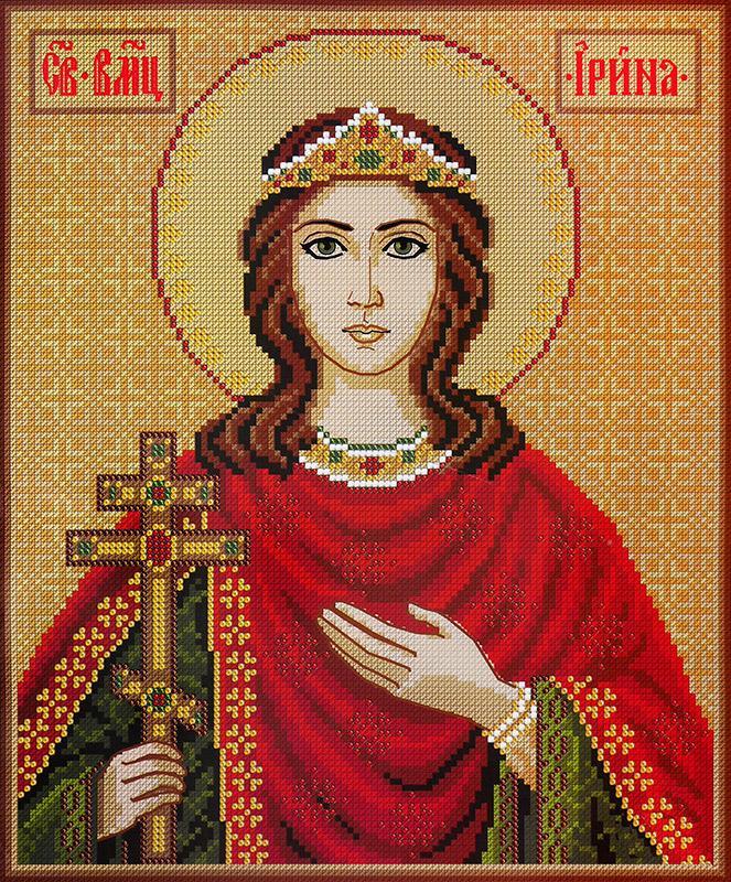 """Набор для вышивания 4025 """"Св. Великомученица Ирина"""""""
