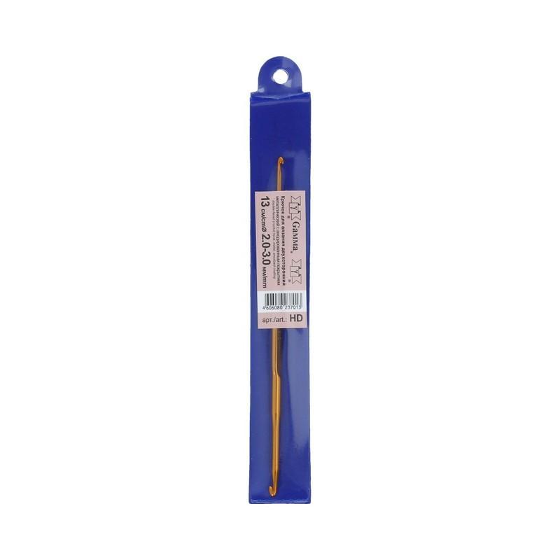 Крючок для вязания двустронний 2-3мм HD2-3