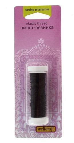 Нитка-резинка 10м 401047 черный