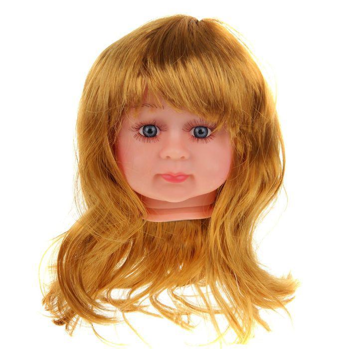 Волосы для кукол Прямые с челкой 2294816