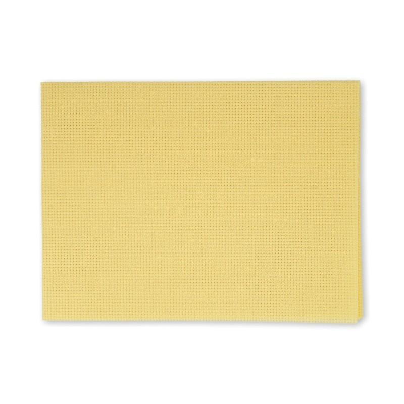 Канва в упаковке Г 30х40см 14кл желтый