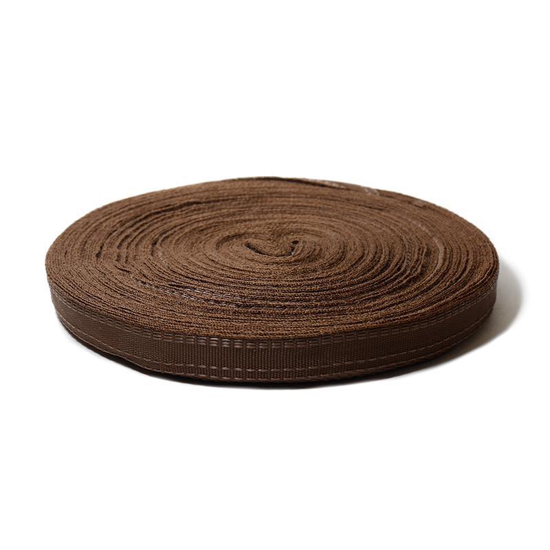 Тесьма брючная 16мм 50м В, коричневый