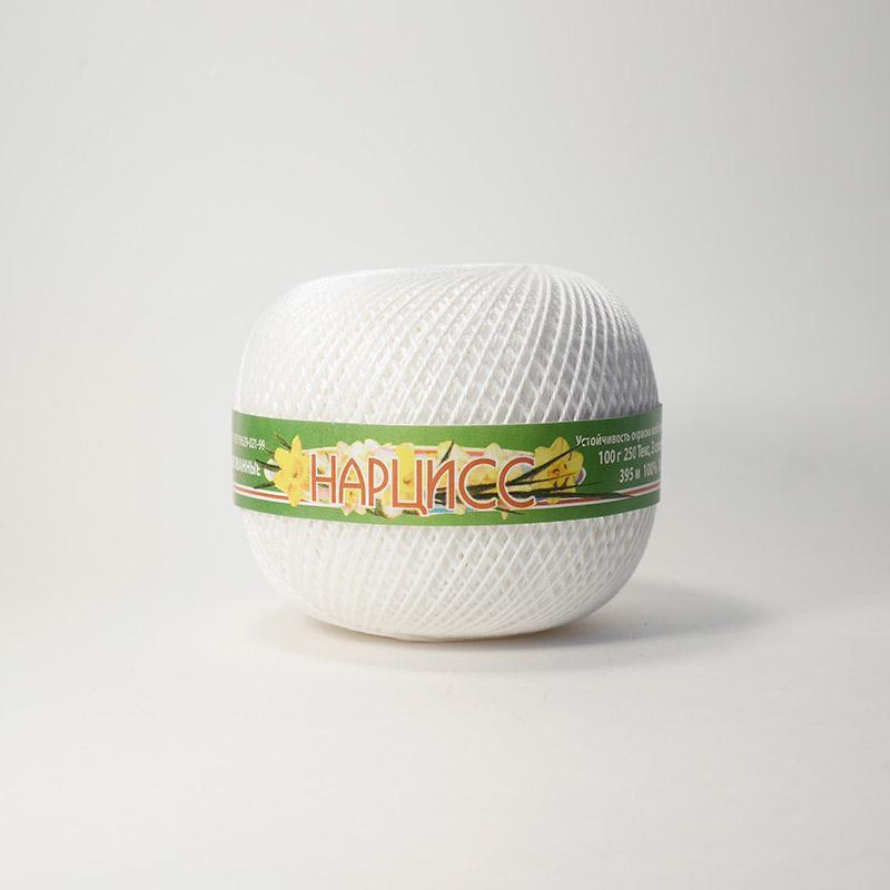 Пряжа Нарцисс 0101 - белый
