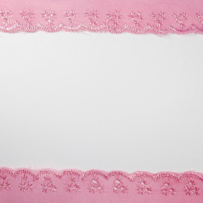 Шитье 25мм 13,5м, розовый