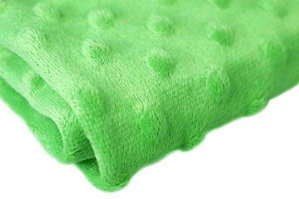 Ткань Велюр Точки 50х50см св.зеленый