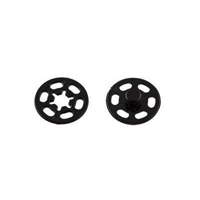 Кнопки пришивные пластик PKL-25 25мм 10шт 02 черный