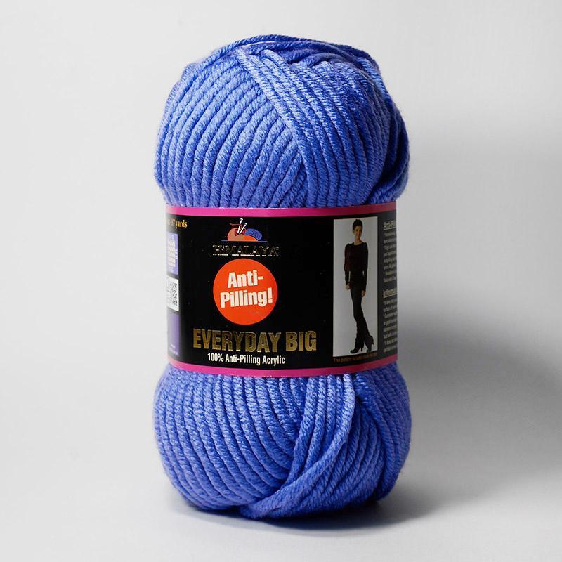 Пряжа Эвридей Биг 70821 - голубой