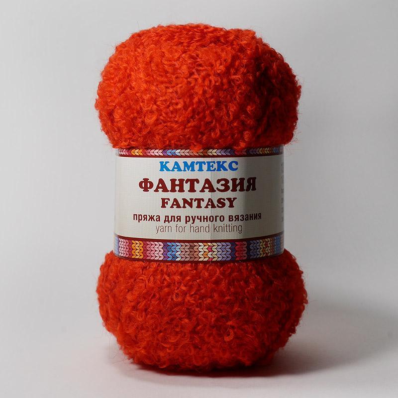 Пряжа Фантазия 046 - красный