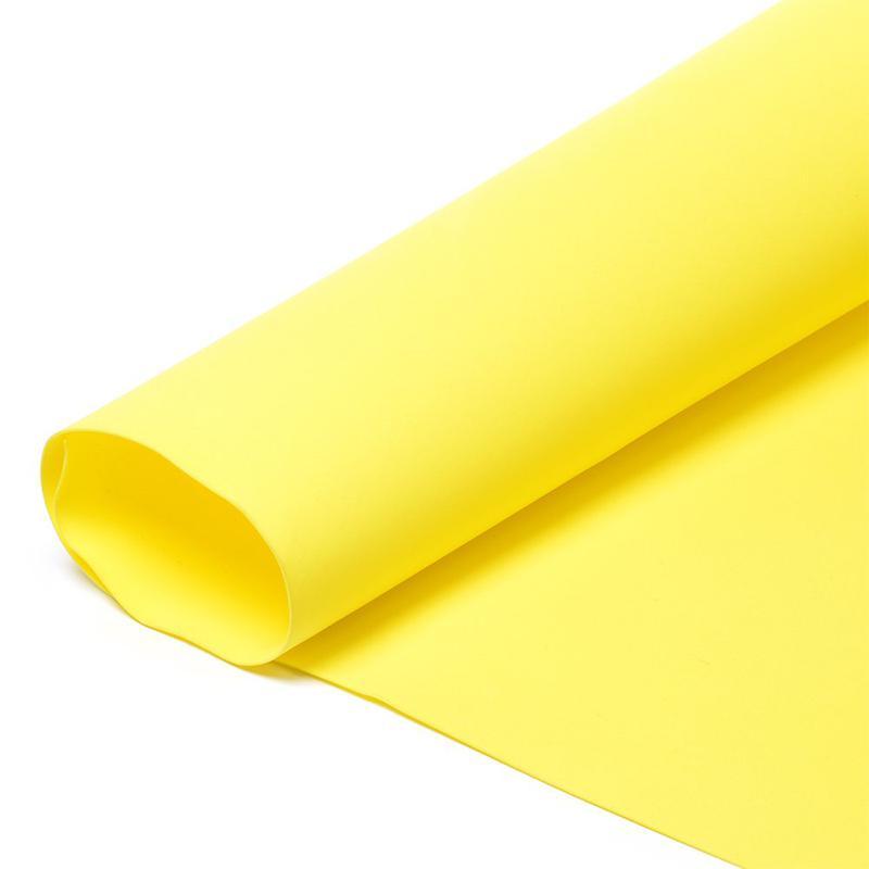 Фоамиран в листах 1мм 005 желтый 60х70см