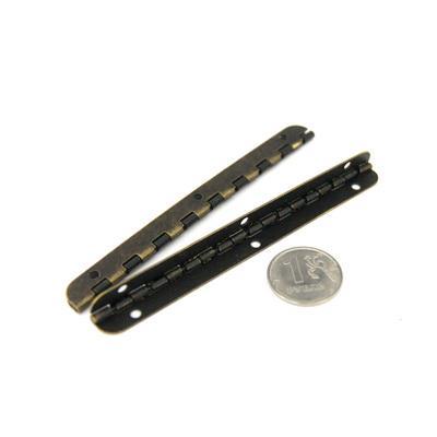Декоративная петля для шкатулок D-122 8х100мм 3шт бронза 24608