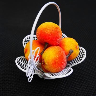 Декоративные фрукты Засахаренное яблоко 10шт