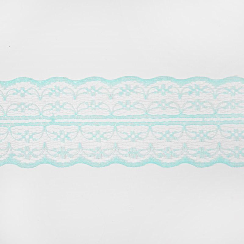 Кружево капрон 45мм/10м арт.133-2 мятный