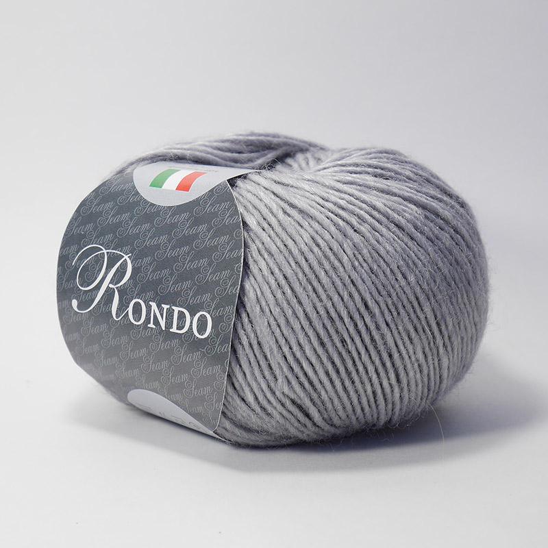 Пряжа Рондо 10 - серый