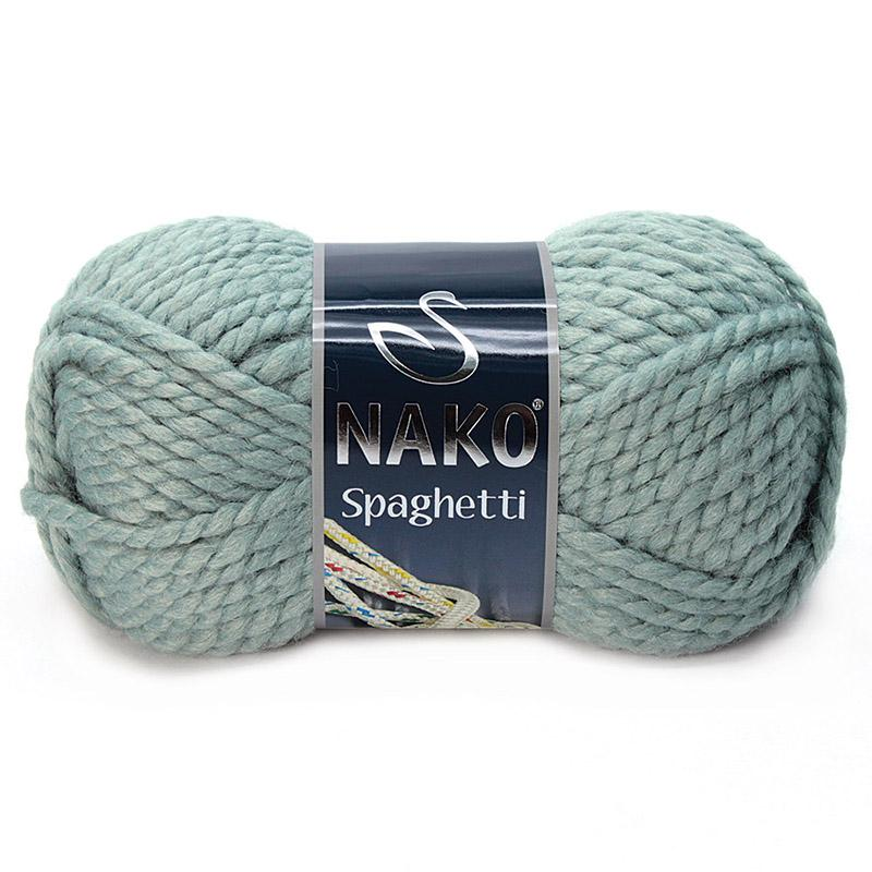 Пряжа Спагетти 10937 - светло - бирюзовый