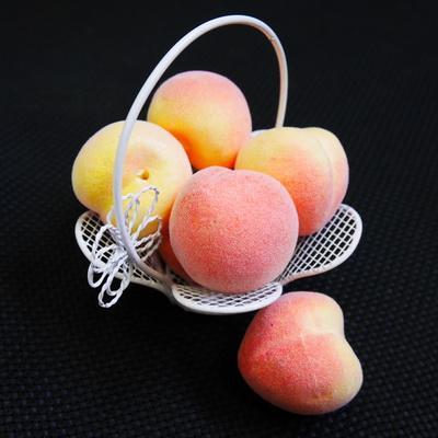 Декоративные фрукты Персик 10шт