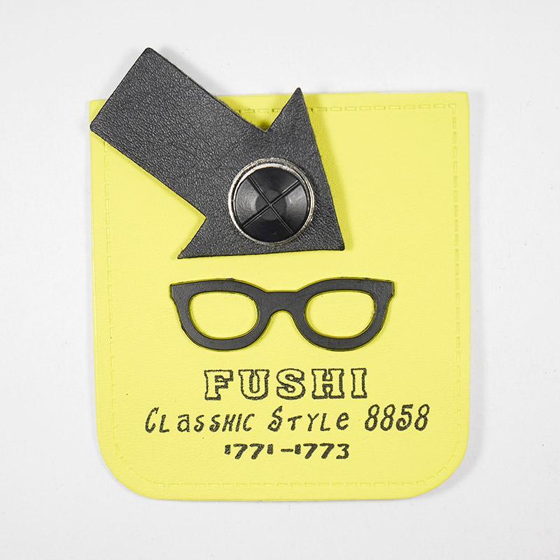 Лейба п/у A10932 Fushi очки 90х65мм 37788