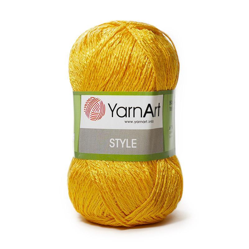 Пряжа Стиль 657 - желток