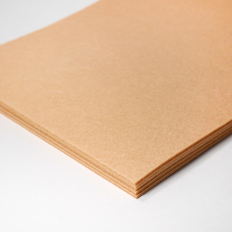 Фетр Набор KD07 20х30см 10 листов песочный