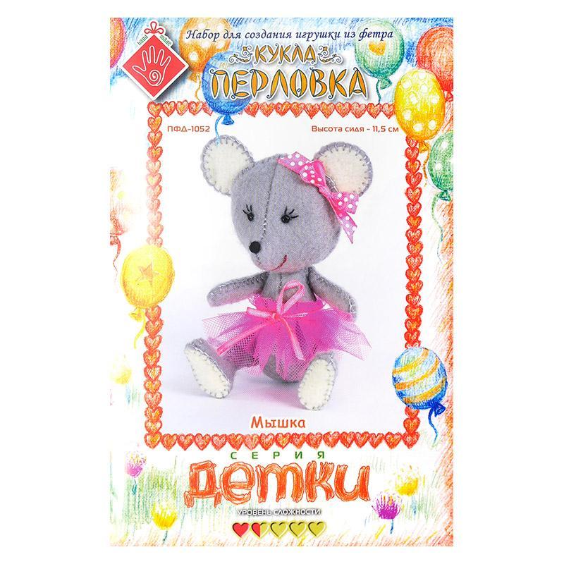 Набор для шитья игрушки Мышка 2728026