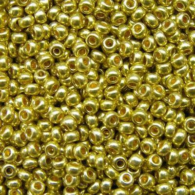 Бисер Preciosa 18586 10/0 50гр св.золото