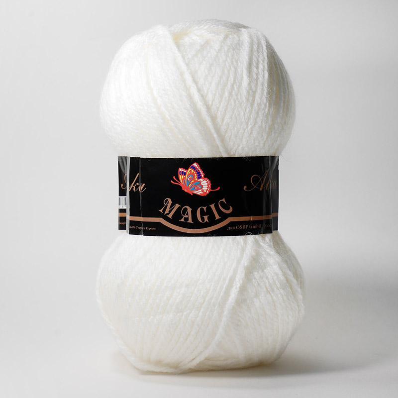 Пряжа Alaska 5801 - белый