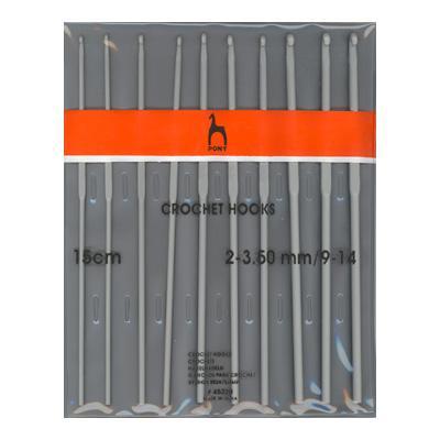 Набор крючков вязальных 2.0-3.0 15см 10шт 45220