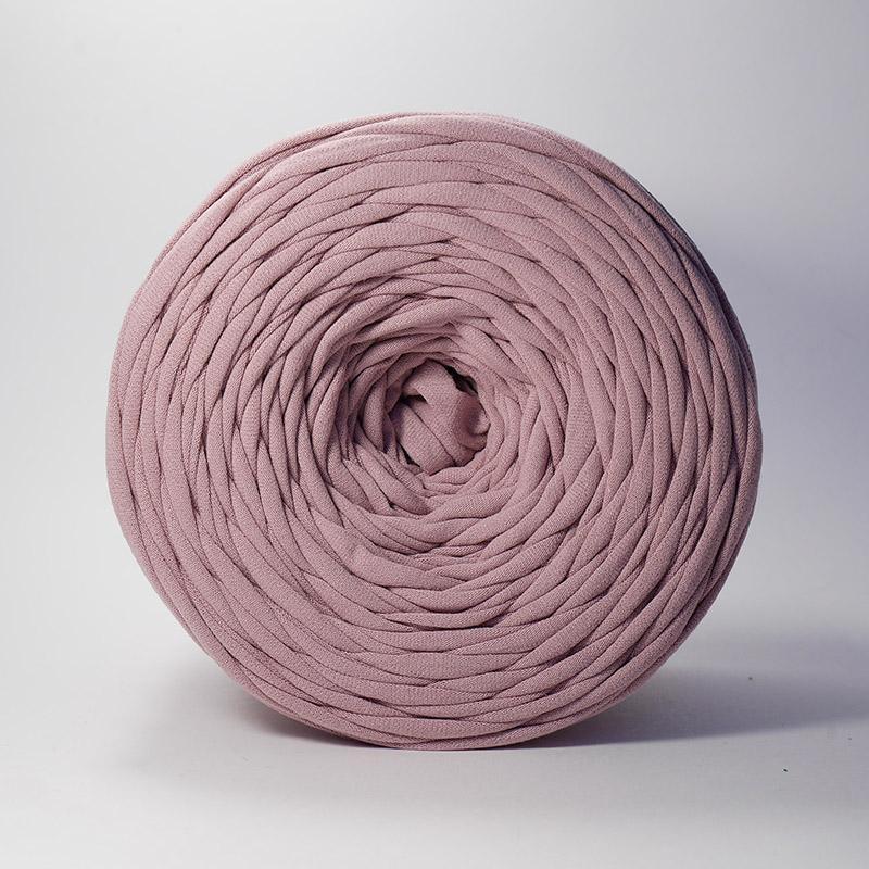 Пряжа Лента - пыльная роза